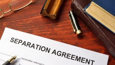 Separation Settlement Calculated